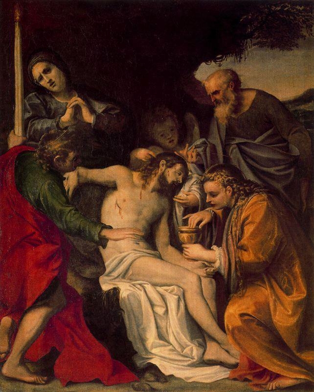 Annibale Carracci. Wounds
