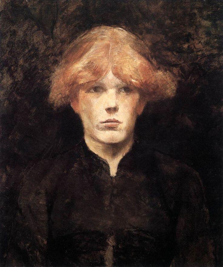 Henri de Toulouse-Lautrec. Portrait Of Carmen Gaudin