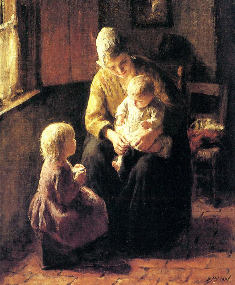 Jacob Simon Hendrick Kever. Taking care of children