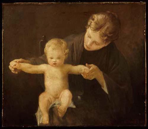Пол Пил. Мать и дитя