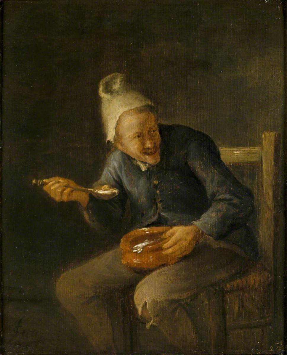 Jan Steen. The sense of taste. The man behind the food
