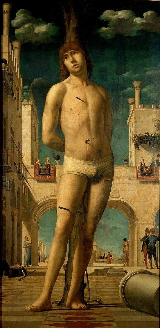 Antonello da Messina. Saint Sebastian