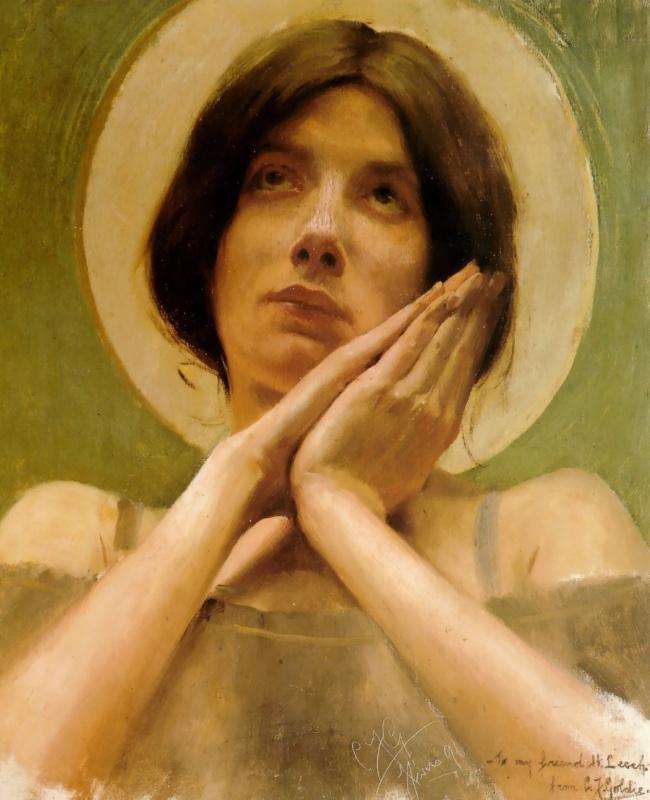 Чарльз Голди. Жанна д'Арк. Париж