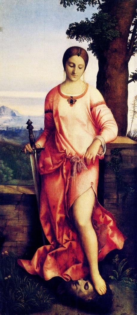 Джорджоне. Юдифь и Олоферн, Джорджоне, 1504