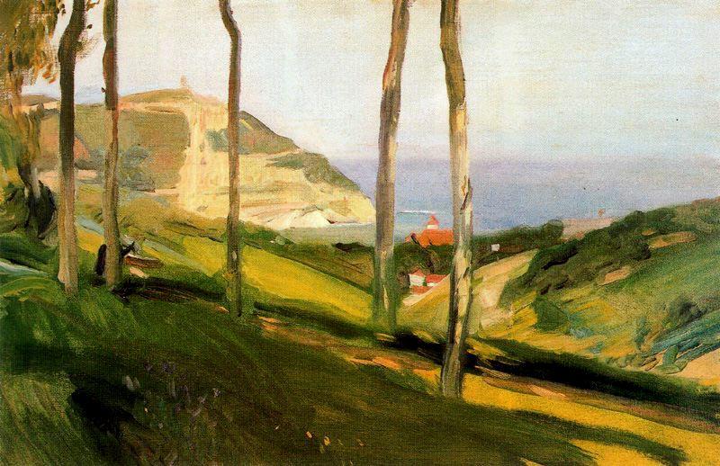 Хоакин Соролья (Соройя). Пейзаж в Сан-Себастьяне