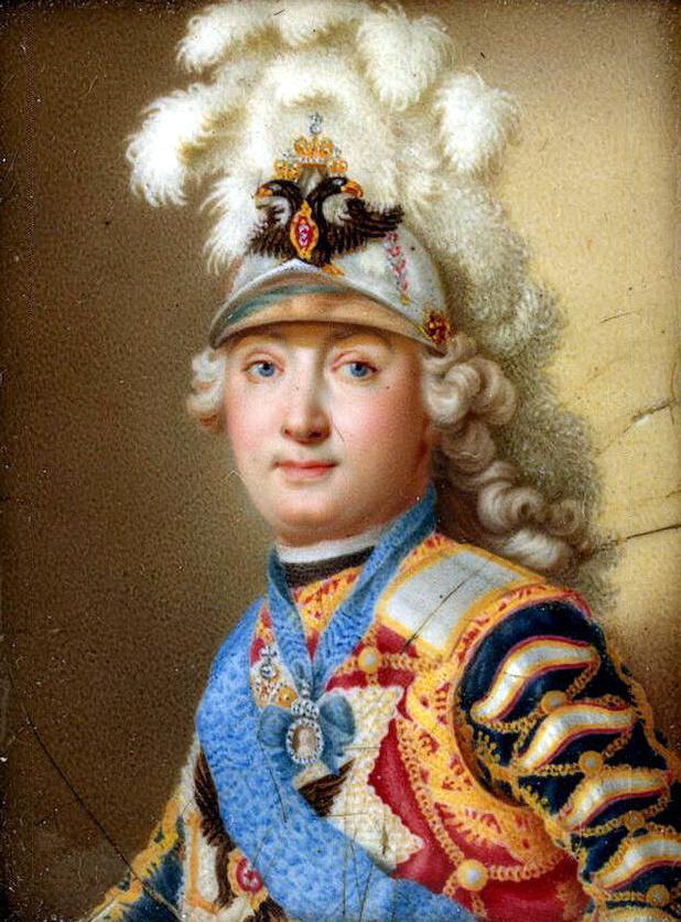 Андрей Иванович Черный. Портрет графа Григория Григорьевича Орлова