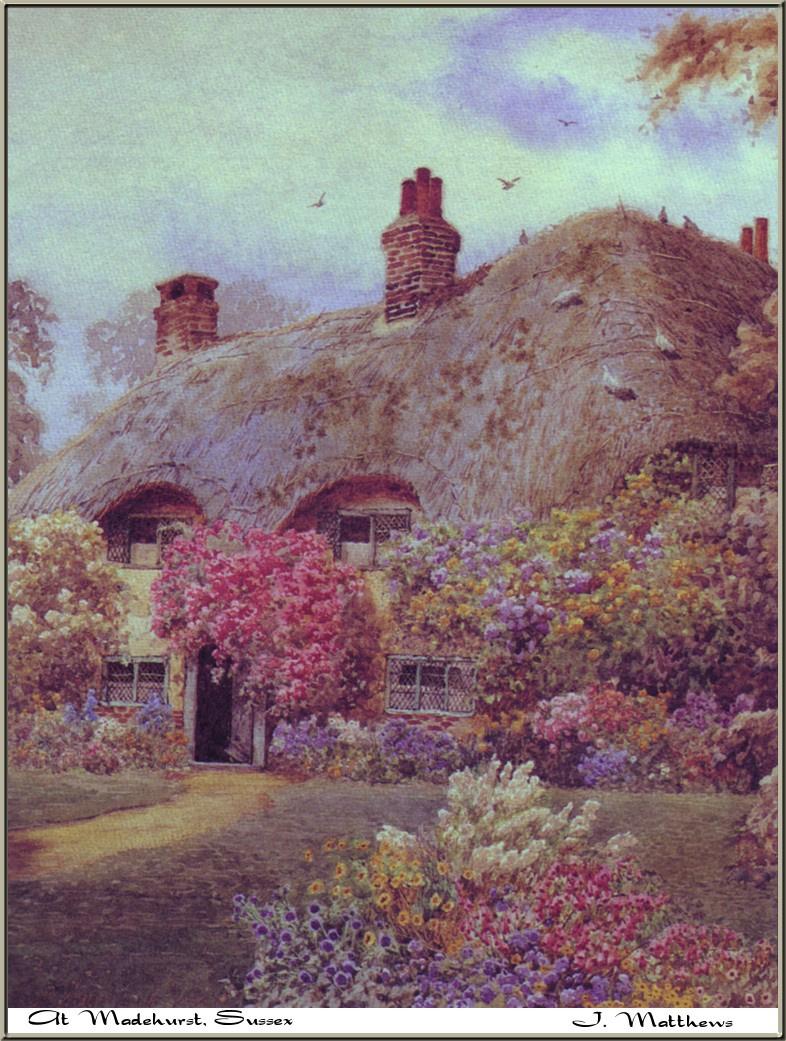 James Matthews. Victorian cottages