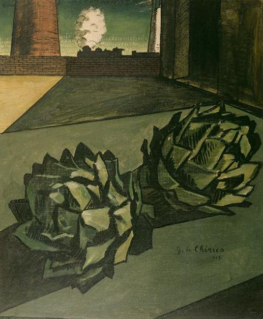 Джорджо де Кирико. Полуденная меланхолия