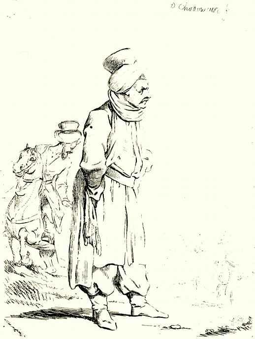 Даниэль  Николай Ходовецкий. Турок