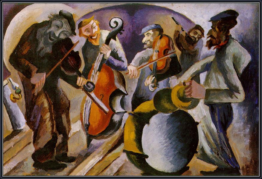 еврейский художник рыбак