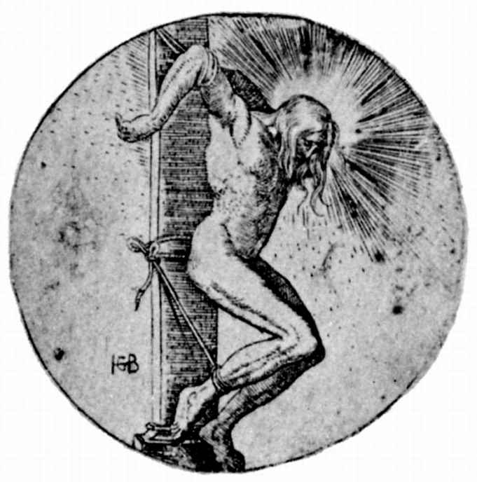 Ханс Бальдунг. Христос-страстотерпец у колонны бичевания