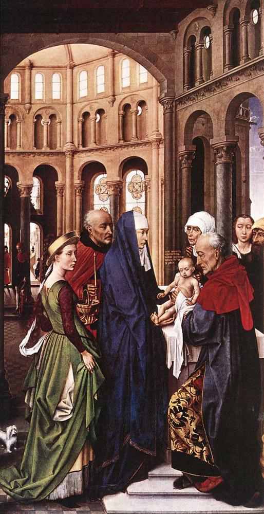 Рогир ван дер Вейден. Христос