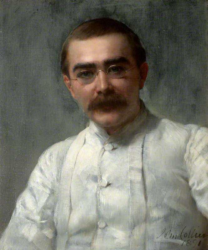 John Collier. Rudyard Kipling