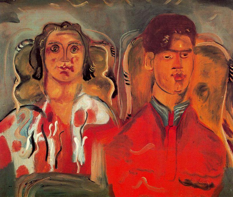 Фрэнсис Ходжкинс. Мужчина и женщина