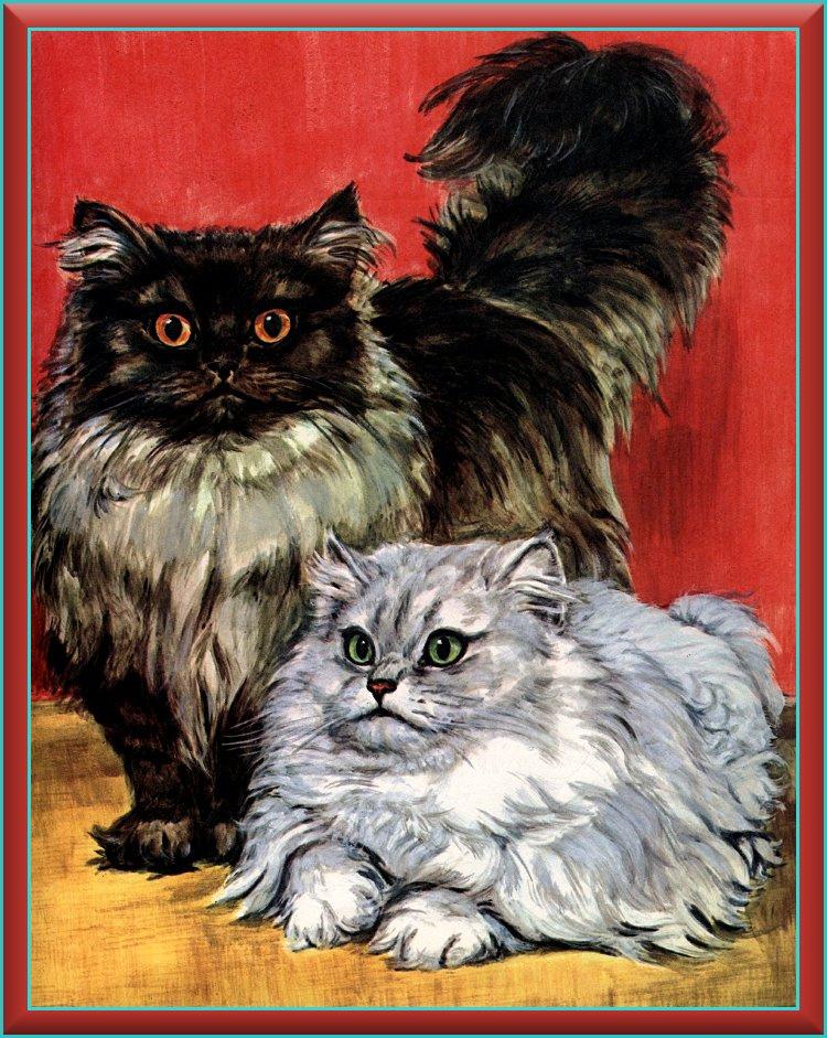 Marge Opitz Buridg. Cat art 1