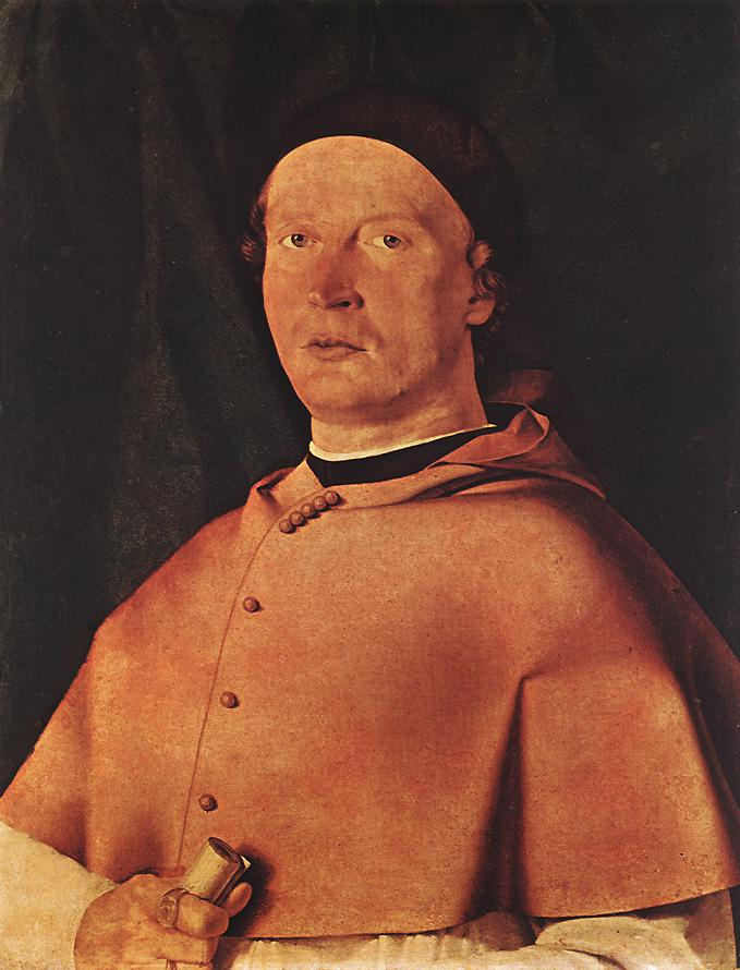 Lorenzo Lotto. Bishop Bernardo