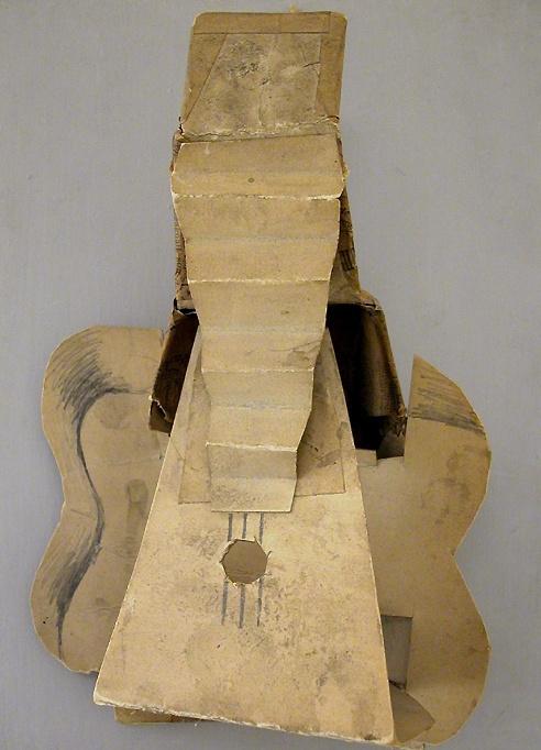 Pablo Picasso. Guitar