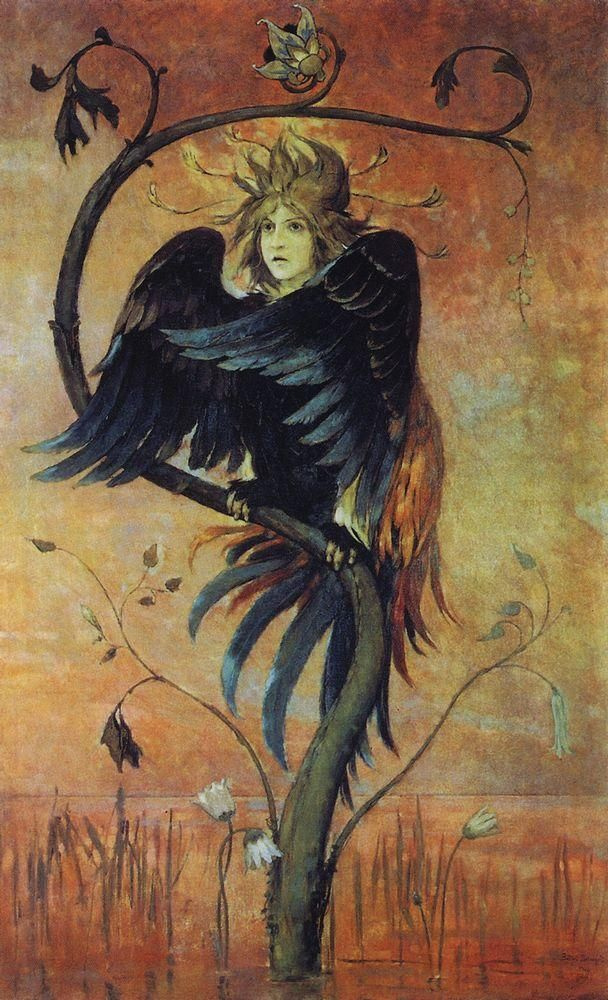 Viktor Vasnetsov. Gamayun, the prophetic bird