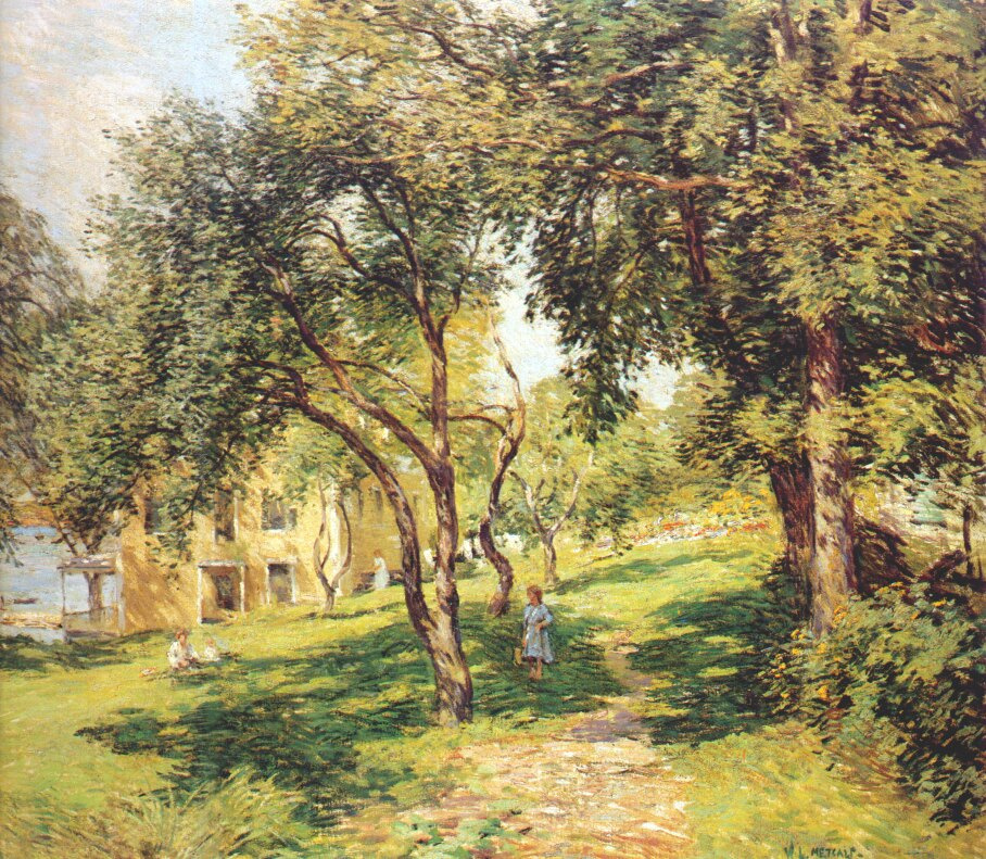 Willard Leroy Metcalfe. The way