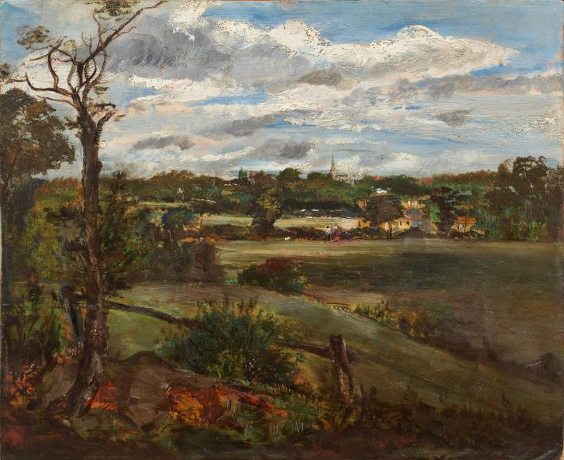 John Constable. The View of Highgate from Hampstead Heath
