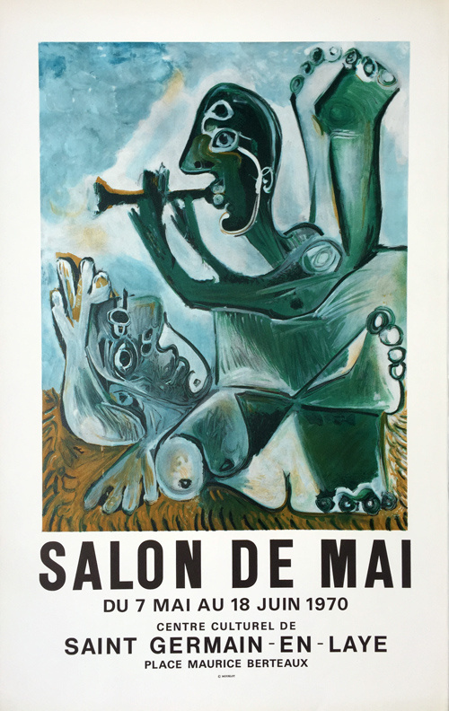 """Пабло Пикассо. Плакат для """"Майского салона"""""""