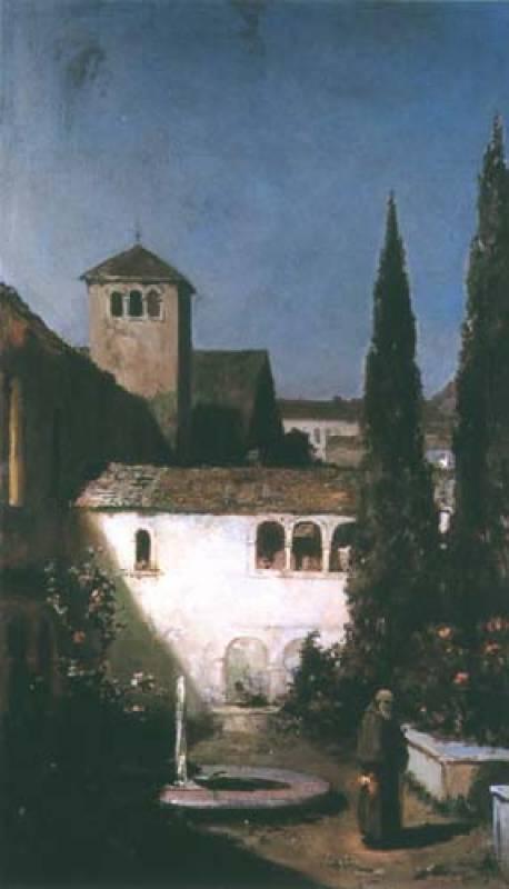 Wilhelm Kotarbinsky. In the monastery