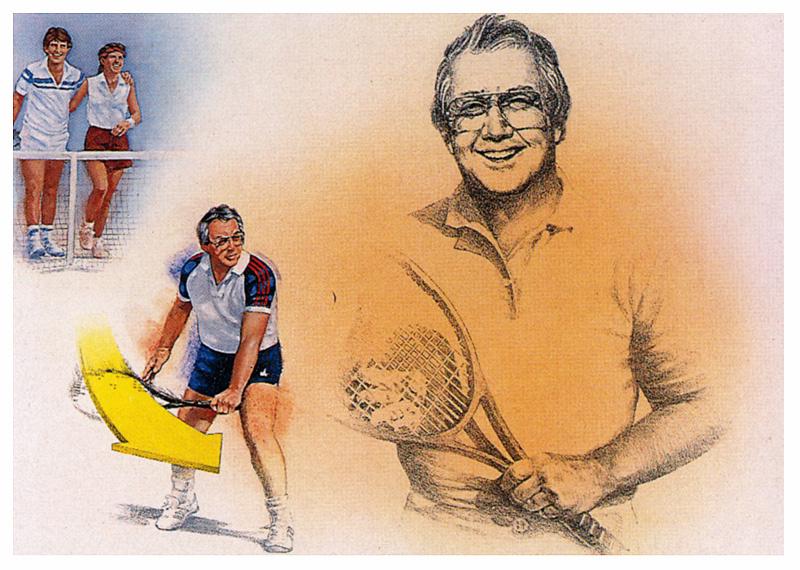 Майк Брент. Теннис