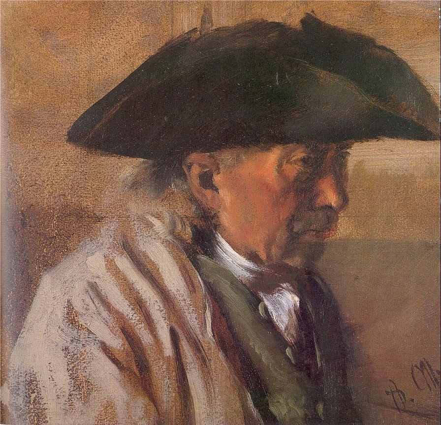 Адольф фон Менцель. Профиль