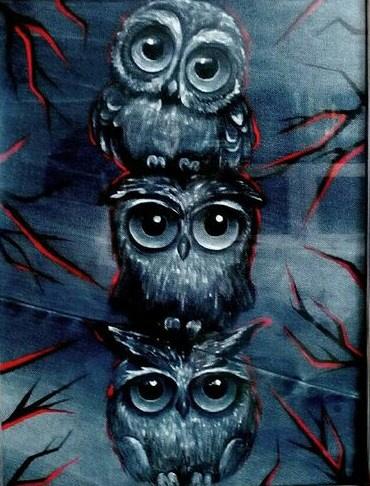 "Ekaterina Evgenievna Barkhatova. ""Night Owls"""