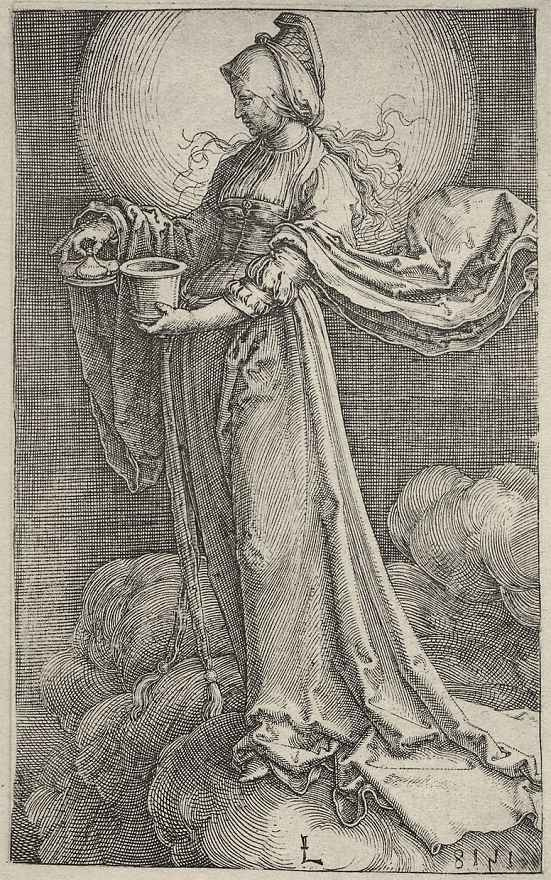 Лукас ван Лейден (Лука Лейденский). Святая Мария Магдалина