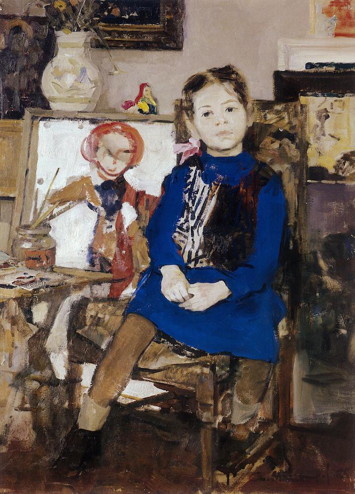 Andrey Andreevich Mylnikov. Vera (daughter's Portrait)