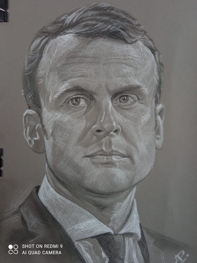 Anatoly Alexandrovich Rybakov. Emmanuel Macron, President of France ...