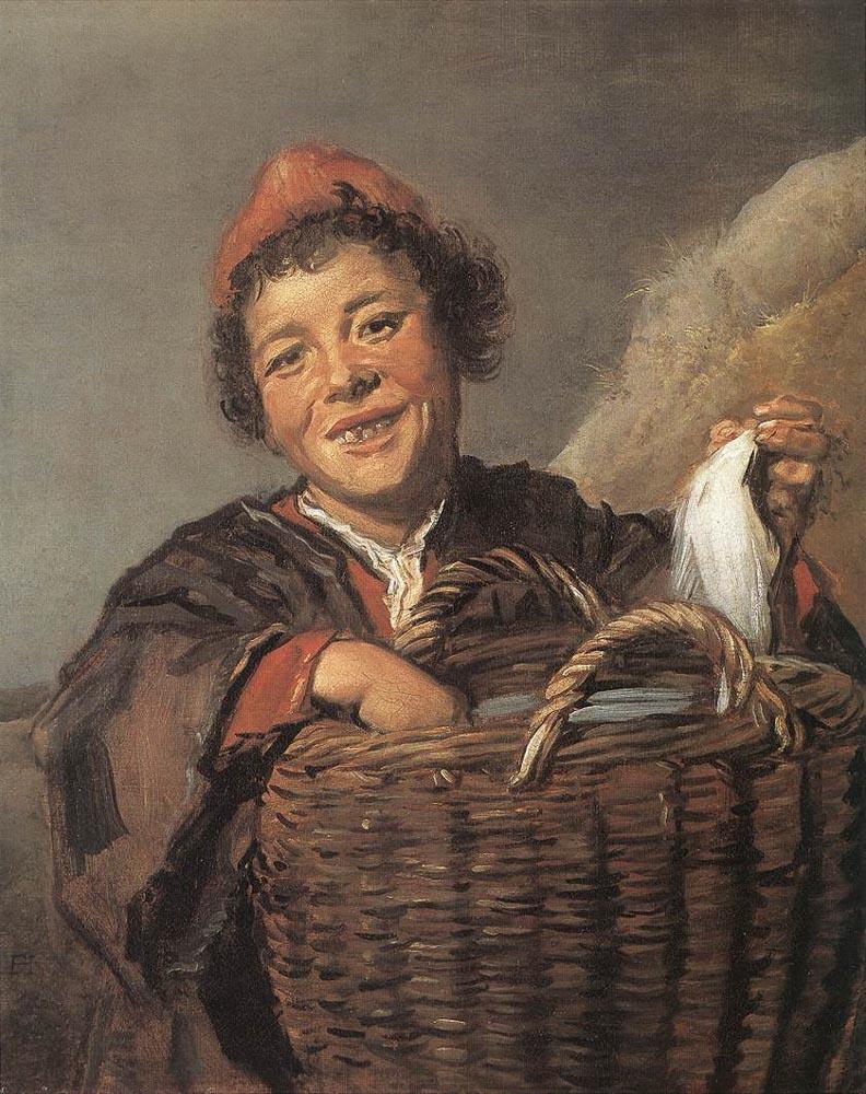 Франс Халс. Мальчик с корзиной