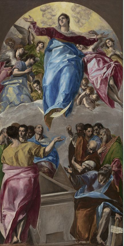Domenico Theotokopoulos (El Greco). Ascension of the Virgin Mary