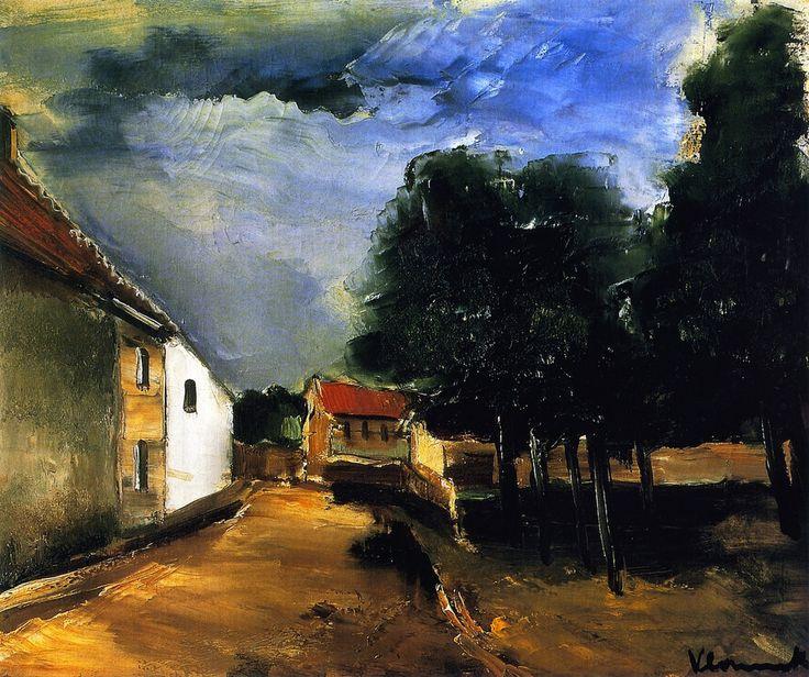 Морис де Вламинк. Пейзаж в Овере