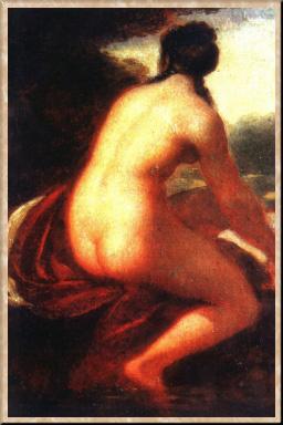 Алексей Егорович Егоров. Купальщица. Ок. 1813