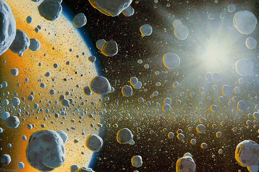 Уильям Хартманн. Кольца Сатурна