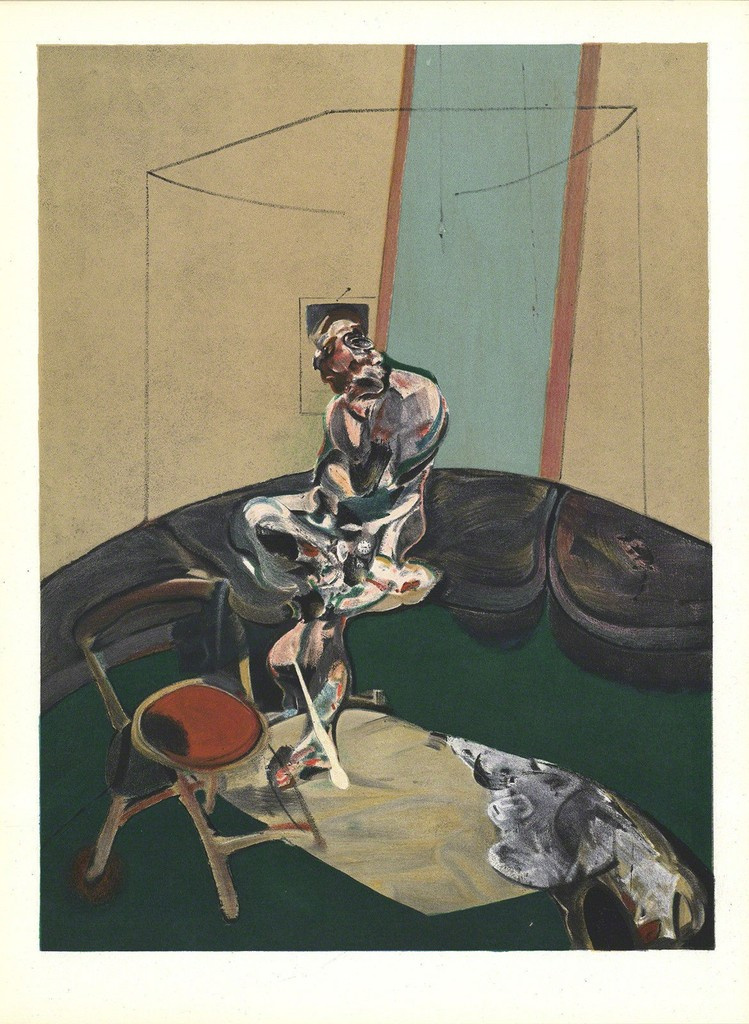 Francis Bacon. Man in blue