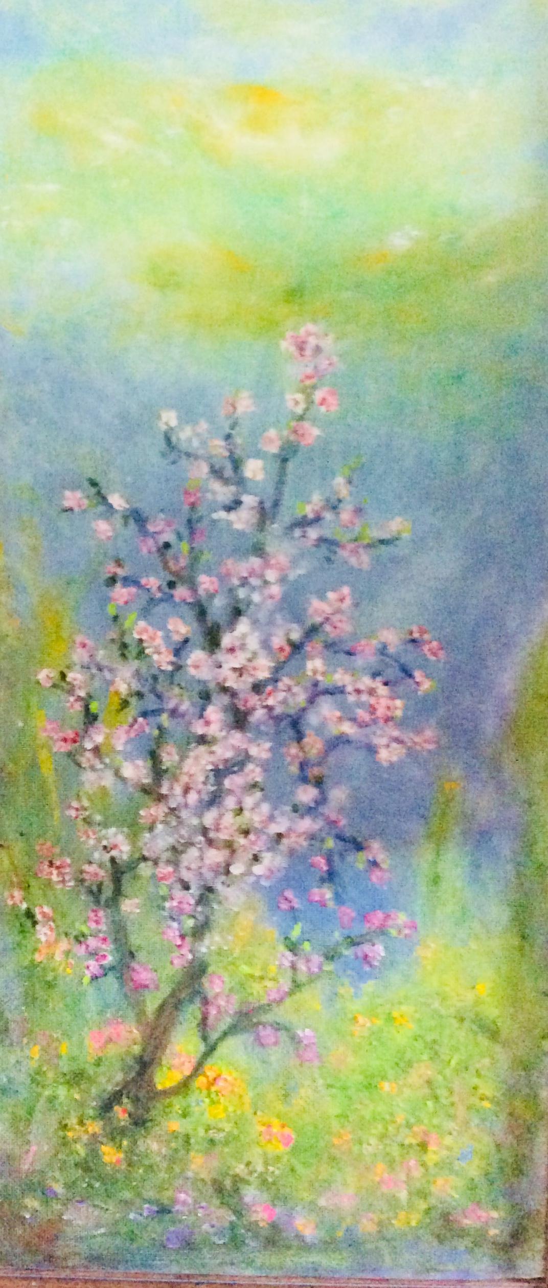 Rita Arkadievna Beckman. Flowering almond