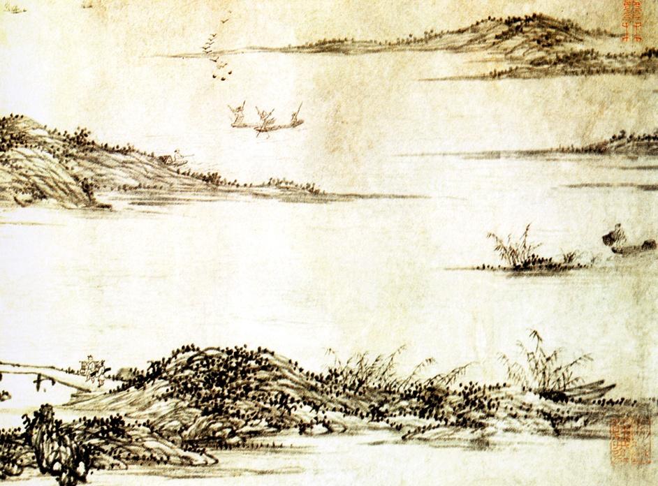 Ван Фу. Пейзаж 006