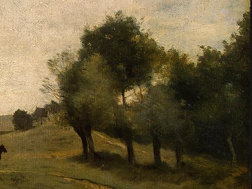 Камиль Коро. Зеленые деревья