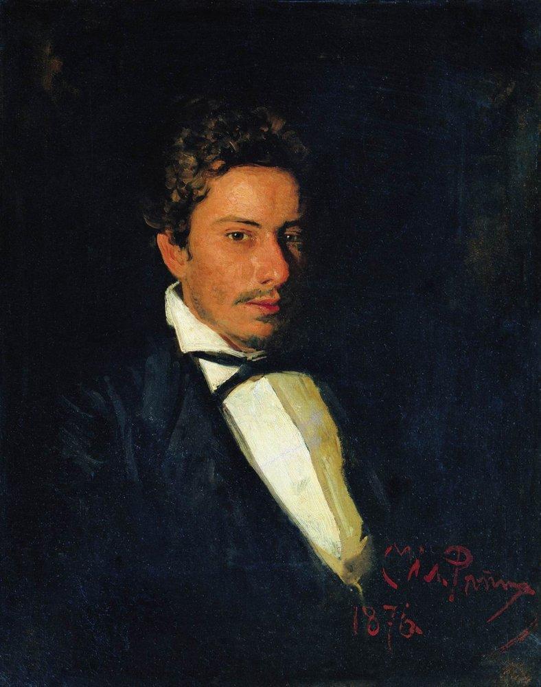 Илья Ефимович Репин. Портрет В.Е.Репина, брата художника