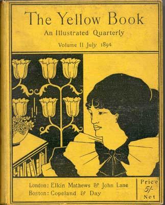 """Обри Бердслей. """"Желтая книга"""". Обложка"""
