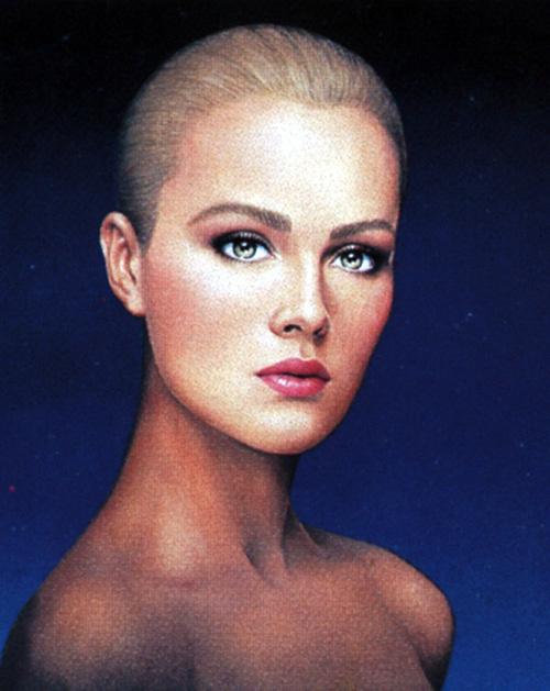 Питер Браун. Портрет блондинки