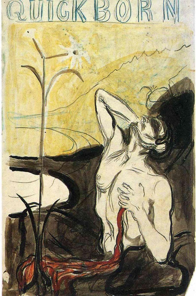 Edvard Munch. A flower of pain
