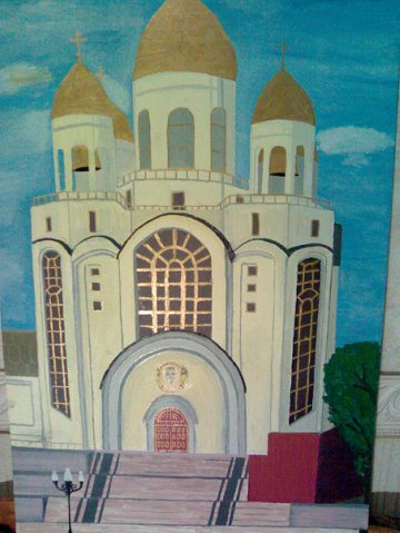 Максим Белоусов. Калининград, Храм Христа Спасителя