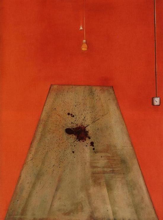 Фрэнсис Бэкон. Кровь на полу