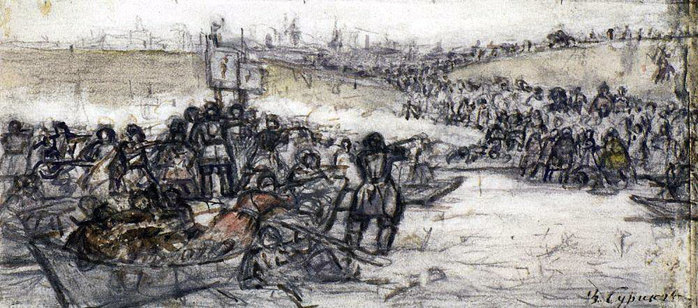 Василий Иванович Суриков. Покорение Сибири