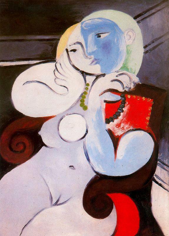 Пабло Пикассо. Обнаженная в красном кресле