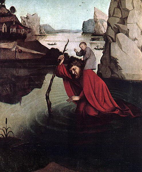 Конрад  (Витц) Виц. Святой Христофор